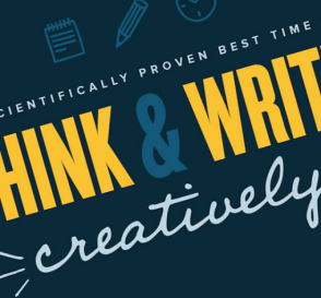 Scientifically Proven Best Time to Think and Write Creatively 5