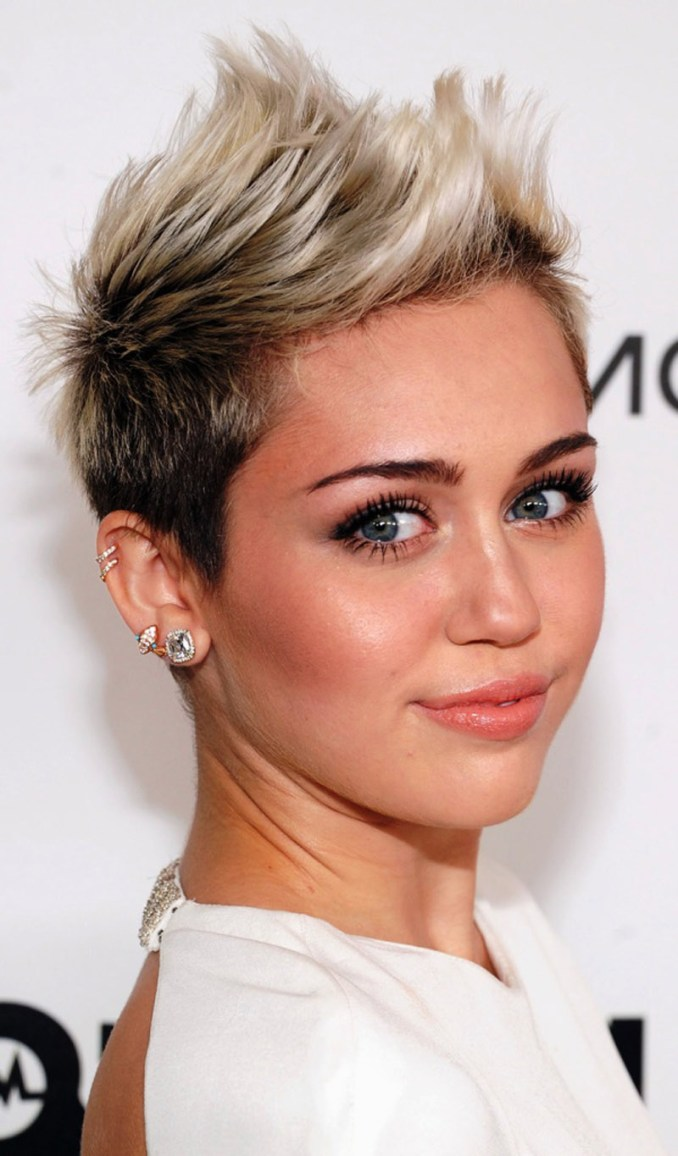 Image Result For Short Funky Hairstyles For Round Faces