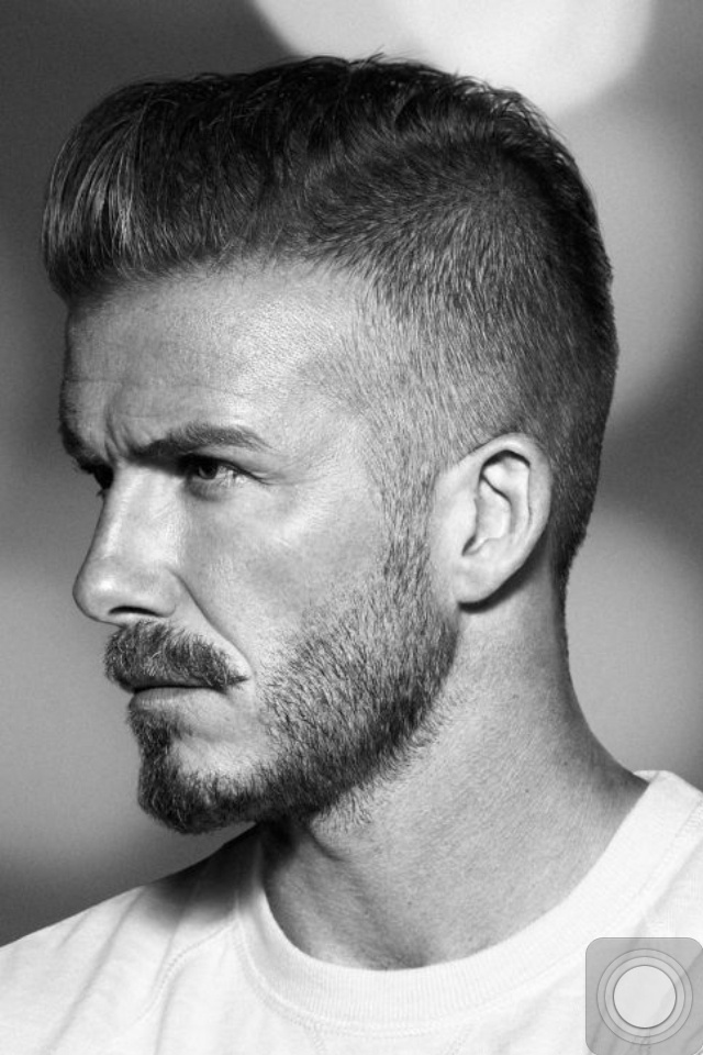 David Beckham Long Hairstyle Page 1