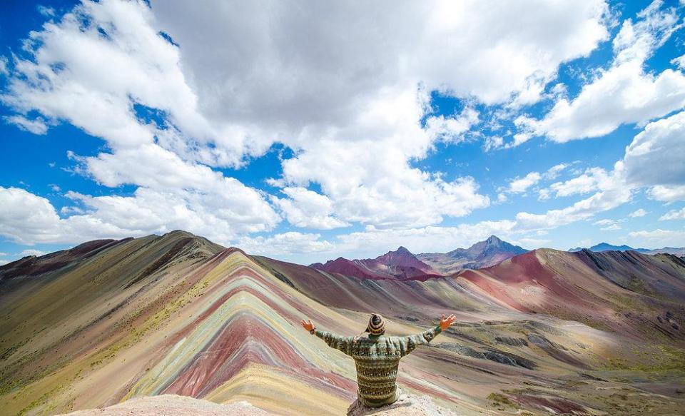 Image result for rainbow mountain peru