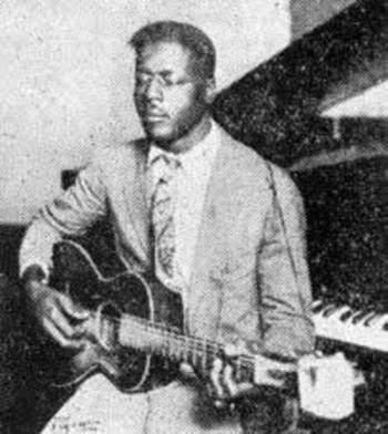 Blind Willie Johnson var en stor karl, inbillar jag mig