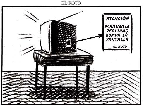 El roto, contra la TV