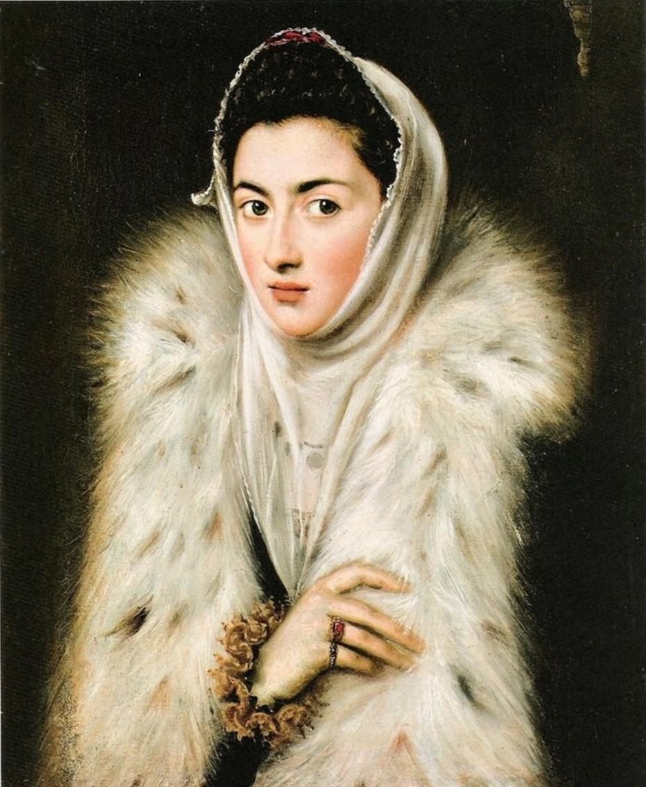La dama del Armiño. El Greco