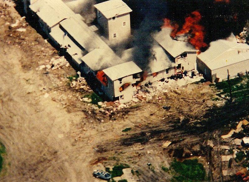 Rancho de los Davidianos en Waco