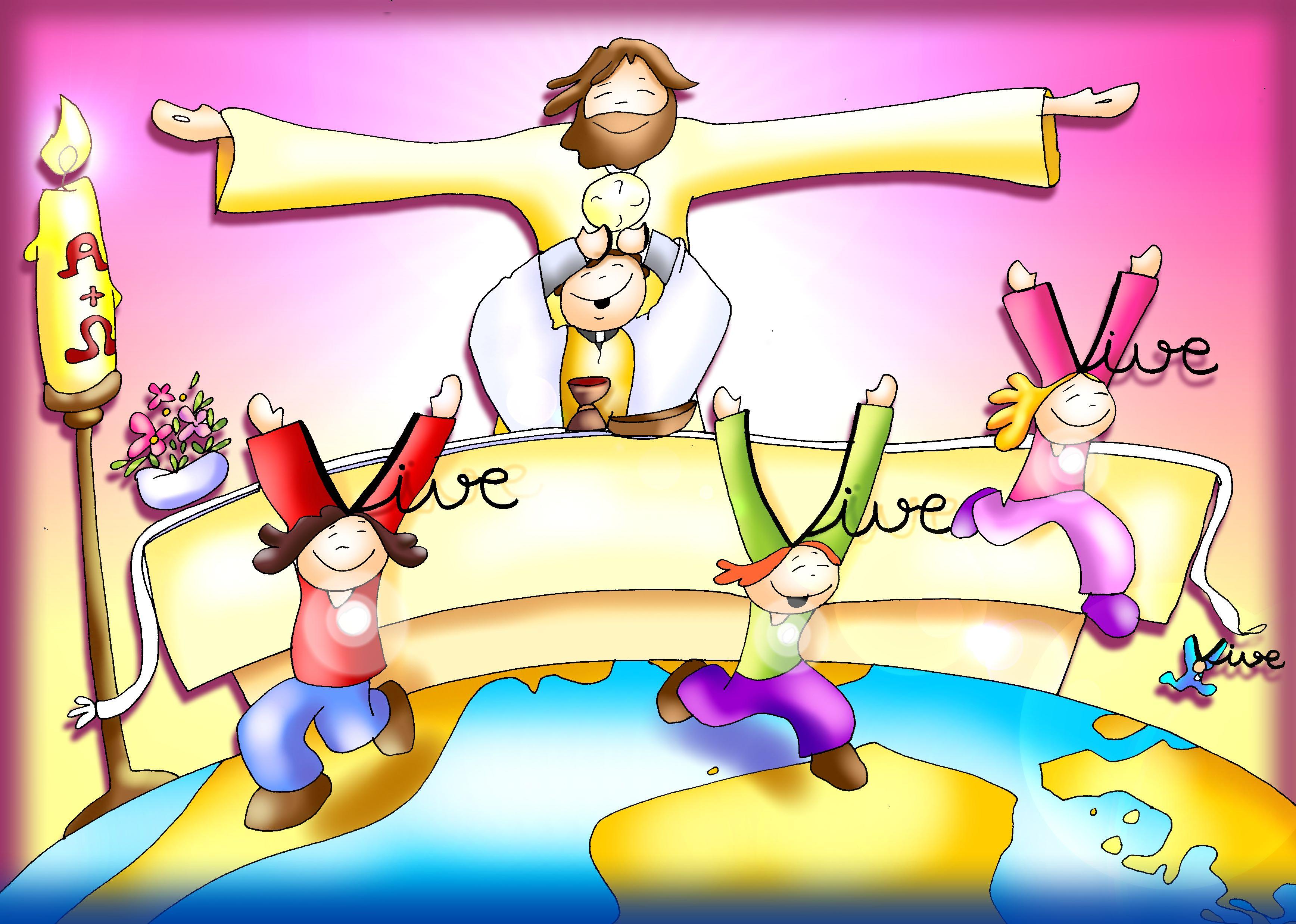 Resultado de imagen de catequesis domingo de resurrección para niños