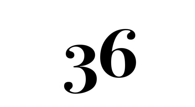 Number 36 – 2017-06-18