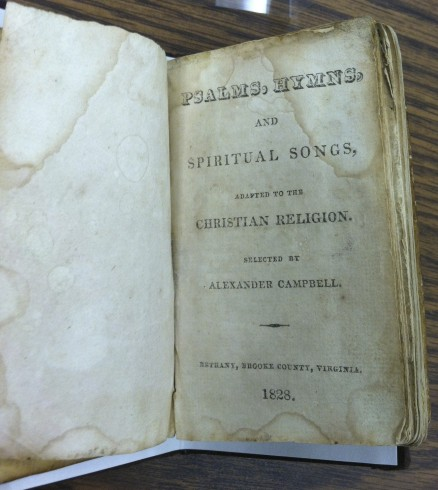 Alexander Campbell, Psalms, Hymns, and Spiritual Songs 1828