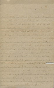 The second page of Mary Hamilton Ervin's letter.