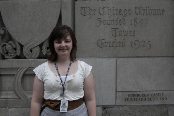 Jessica Morrison at the Chicago Tribune