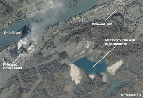 High Risk Coal Ash Impoundment Pleasants Power Station