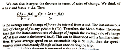 passage from calculus textbook