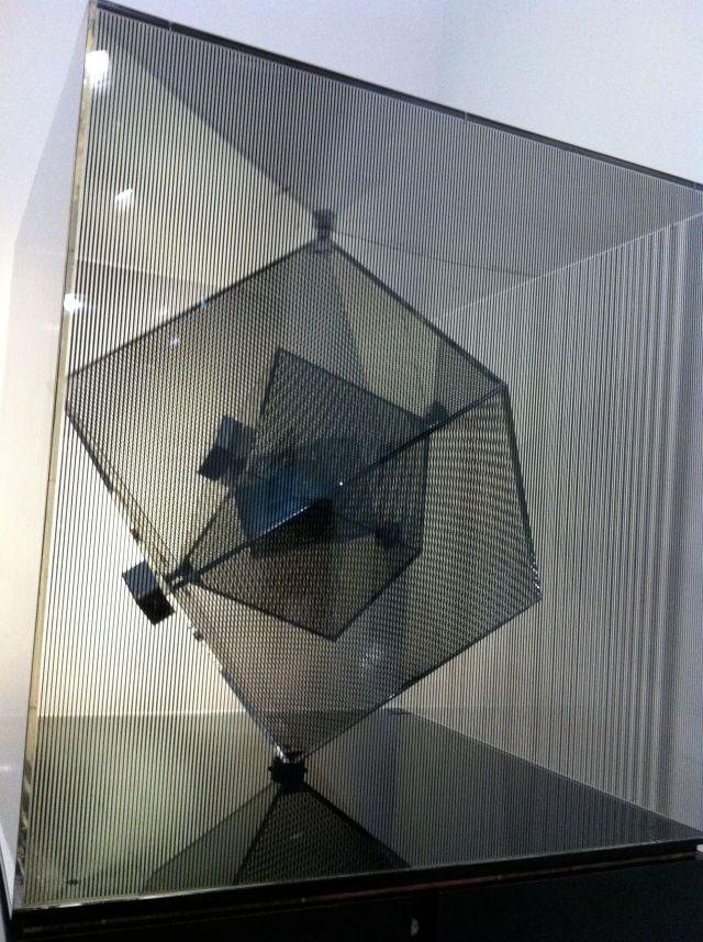 """Ipercubo"", by Davide Boriani."