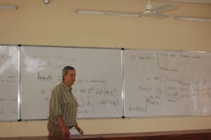 Francesco Pappalardi teaches all of algebraic number theory in a record 7.5 hours.
