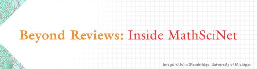 Beyond Reviews: Inside MathSciNet