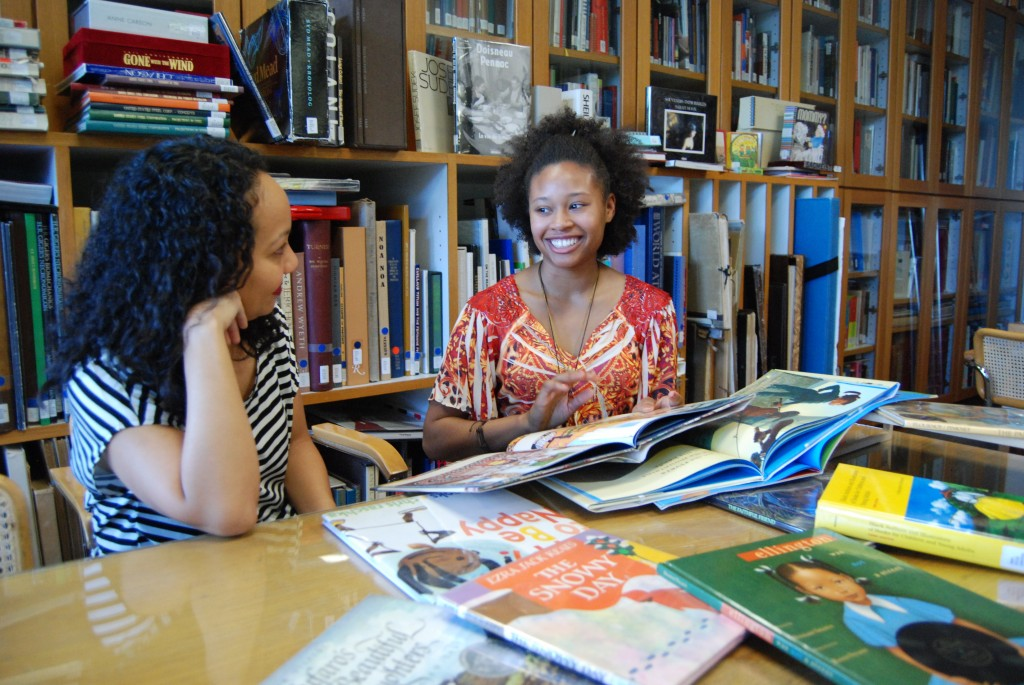 Image result for african american student in library