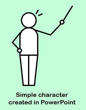 create custom characters in PowerPoint
