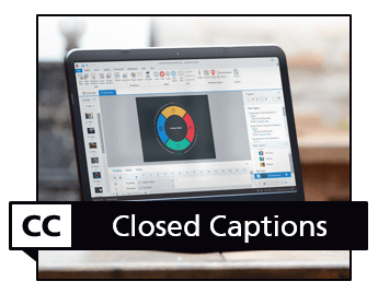 closed captions in Storyline