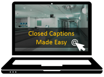 free closed captioning software for online training and elearning