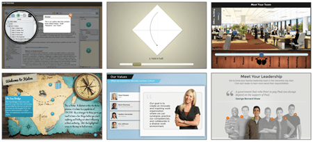 interactive e-learning examples