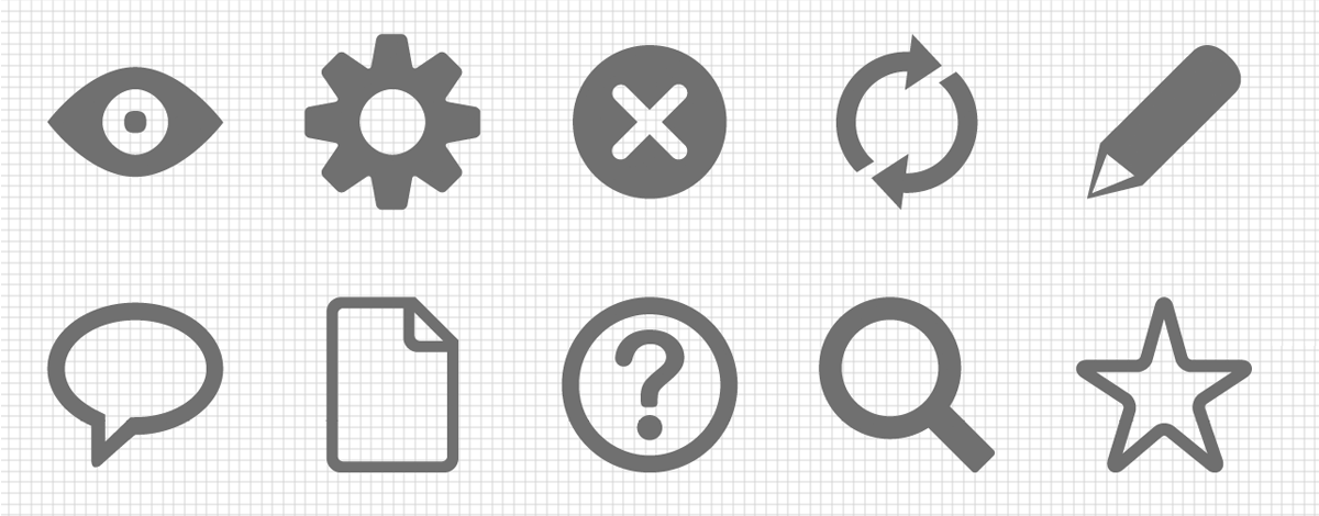 How to make an icon font