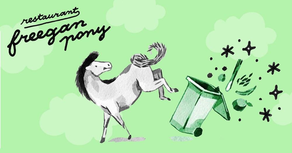 Freegan Pony: come vegano y freegan en París sin ser tú nada de esto