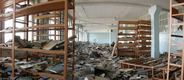 trashed library