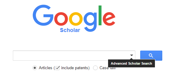 another view of advanced google scholar