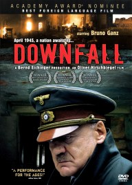Cover of DownFall, Hitler looking very worried