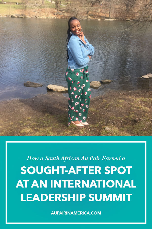 South African Au Pair Earns Sought-After Spot at International Leadership Summit   Au Pair in America