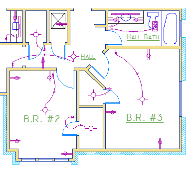 Electrical Wiring Diagram Symbols In Autocad On Electrical Images