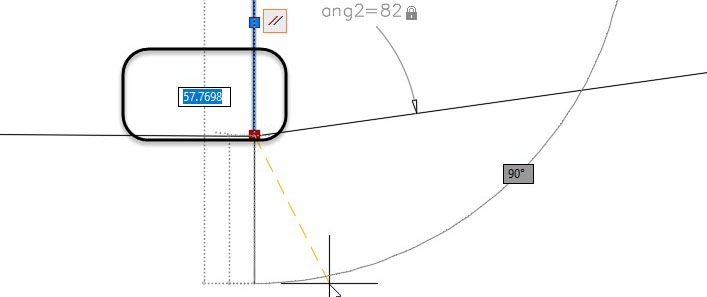 Real-World Example of Using 2D Constraints in AutoCAD