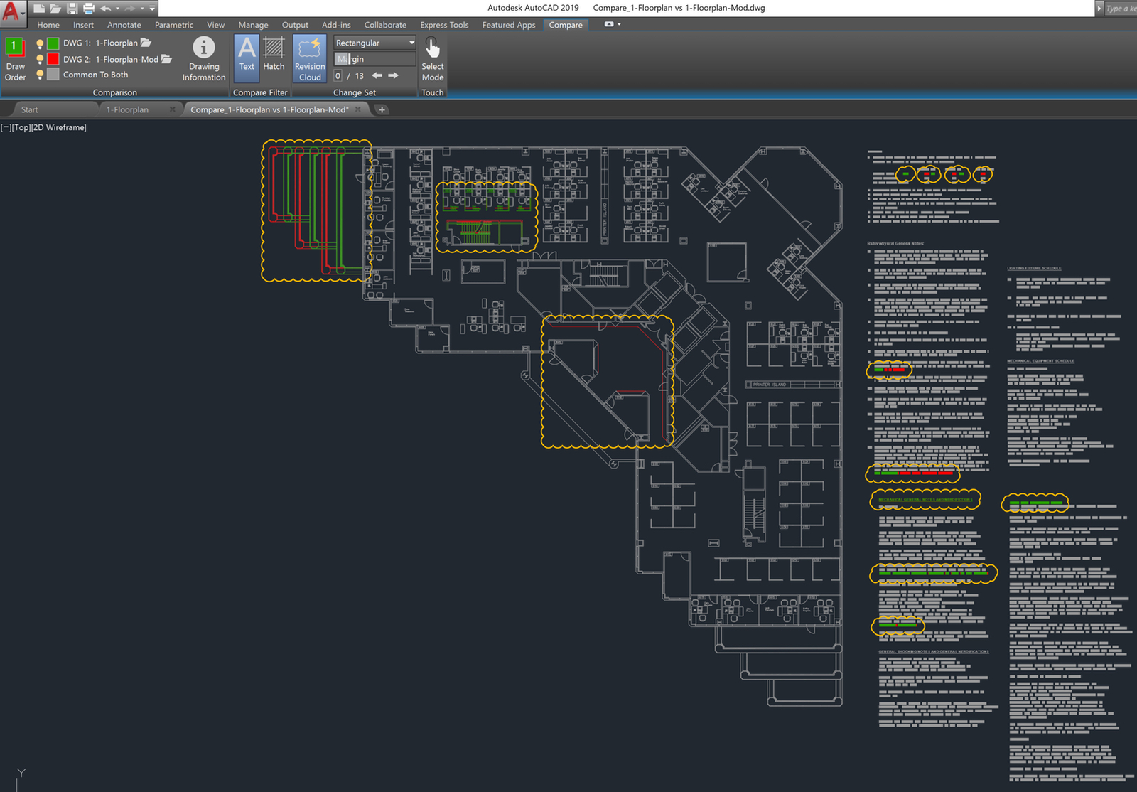 hight resolution of autocad 2019 dwg compare