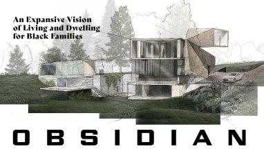 Rendering of Obsidian House