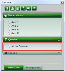 Advance Steel tip on creating a BOM query