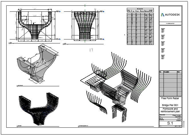 Shannon's Blog: Free Form Rebar Distribution in Revit 2018.1