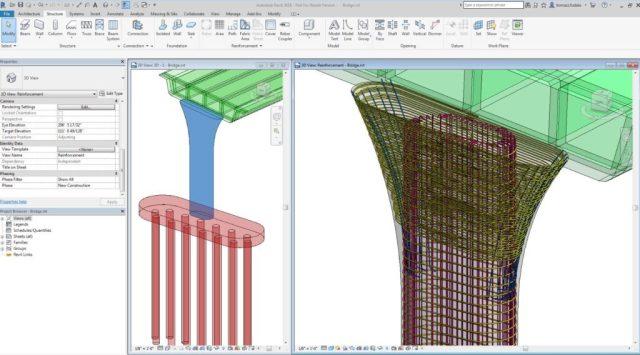revit for structure rebar