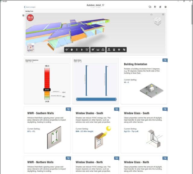 architecture 2030 challenge insight dashboard