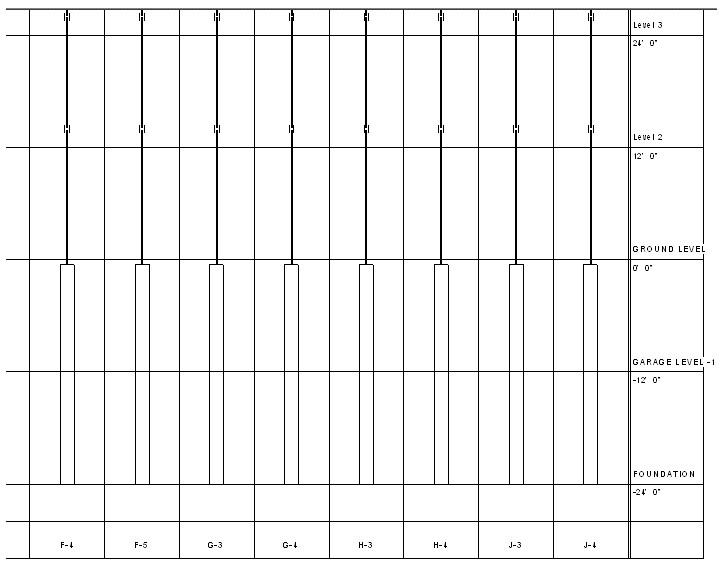 Revit LT vs Revitgraphical column schedules