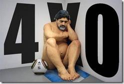 maradona desnudo
