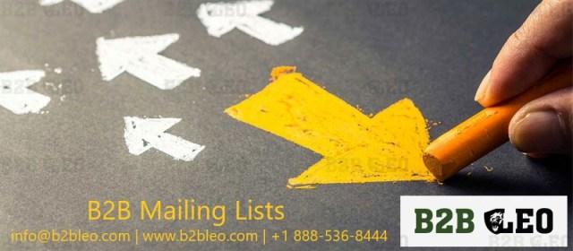 b2b email data