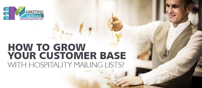 Hospitality Email List