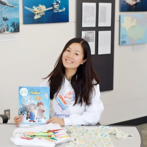 Yuanyuan Yin M'15, Co-founder of SuperHealos