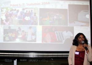 WINner Savitha Sridharan, founder of Orora Global