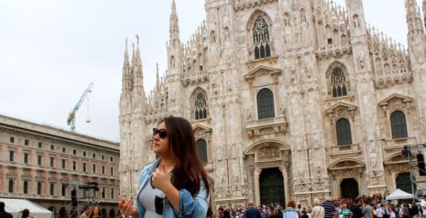 Karla in Milan Italy