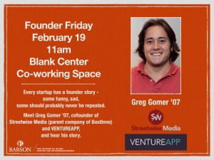 Founder Friday with Greg Gomer 07