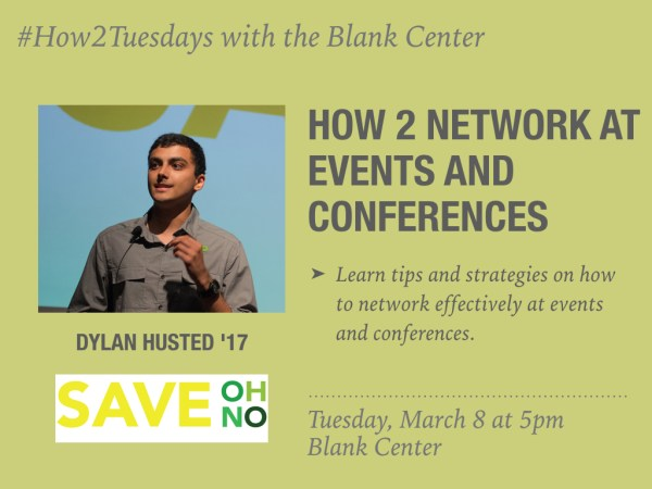 How 2 Network at Events and Conferences