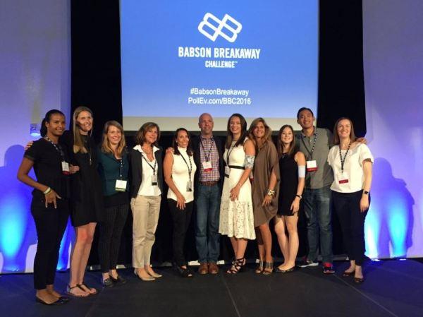 Babson Breakaway Challenge Judges and Finalists