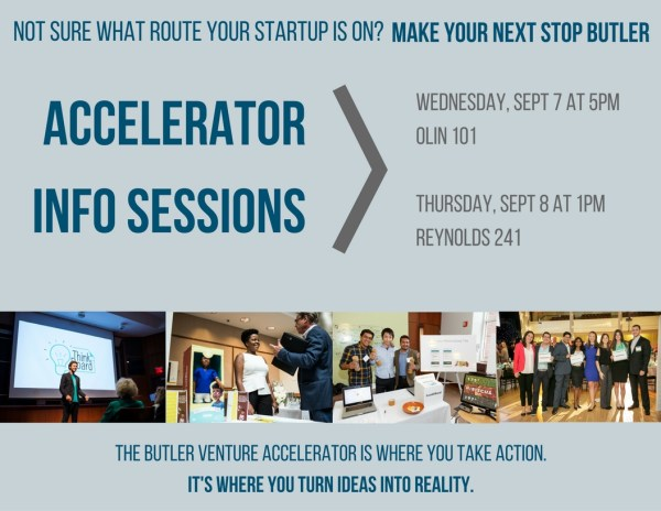 Fall 2016 Accelerator Info Sessions