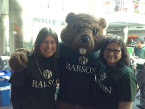 Babson #1 Day with Babsons Beaver