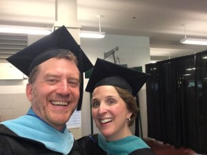 Ken & Cathy at Commencement 2015